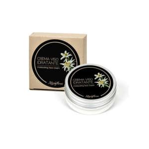 Crema viso naturale con effetto idratante