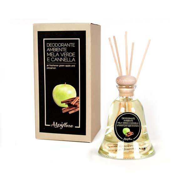 Deodorante per ambiente mela e cannella