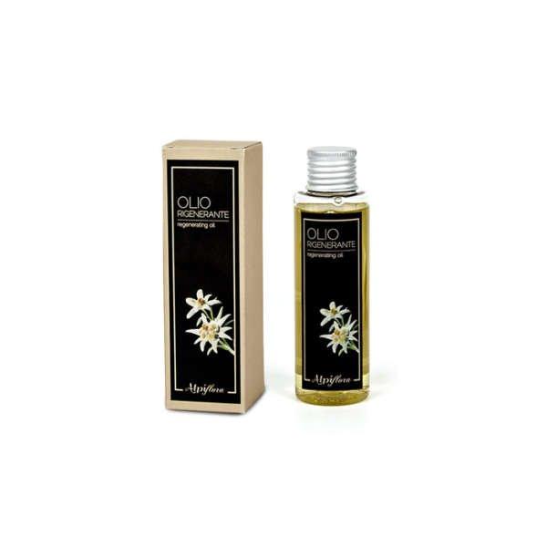 Olio naturale alle erbe alpine per massaggi