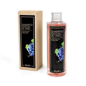 Shampoo doccia naturale all'uva